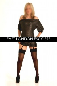 Blonde English Escort