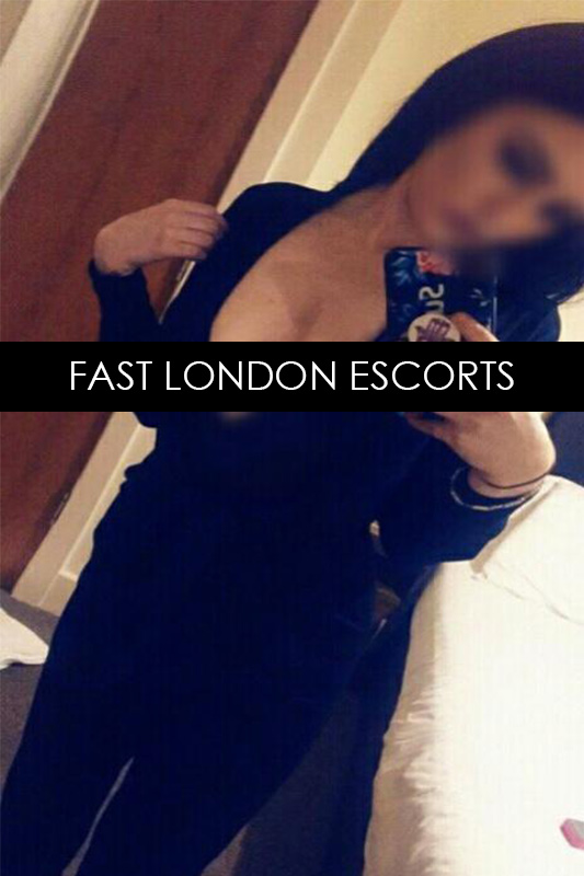 Brunette Busty English Escort